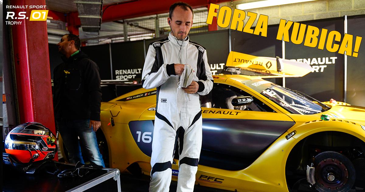 Robert Kubica w Renault Sport Trophy na torze Spa-Francorchamps - Sobota [LIVE]