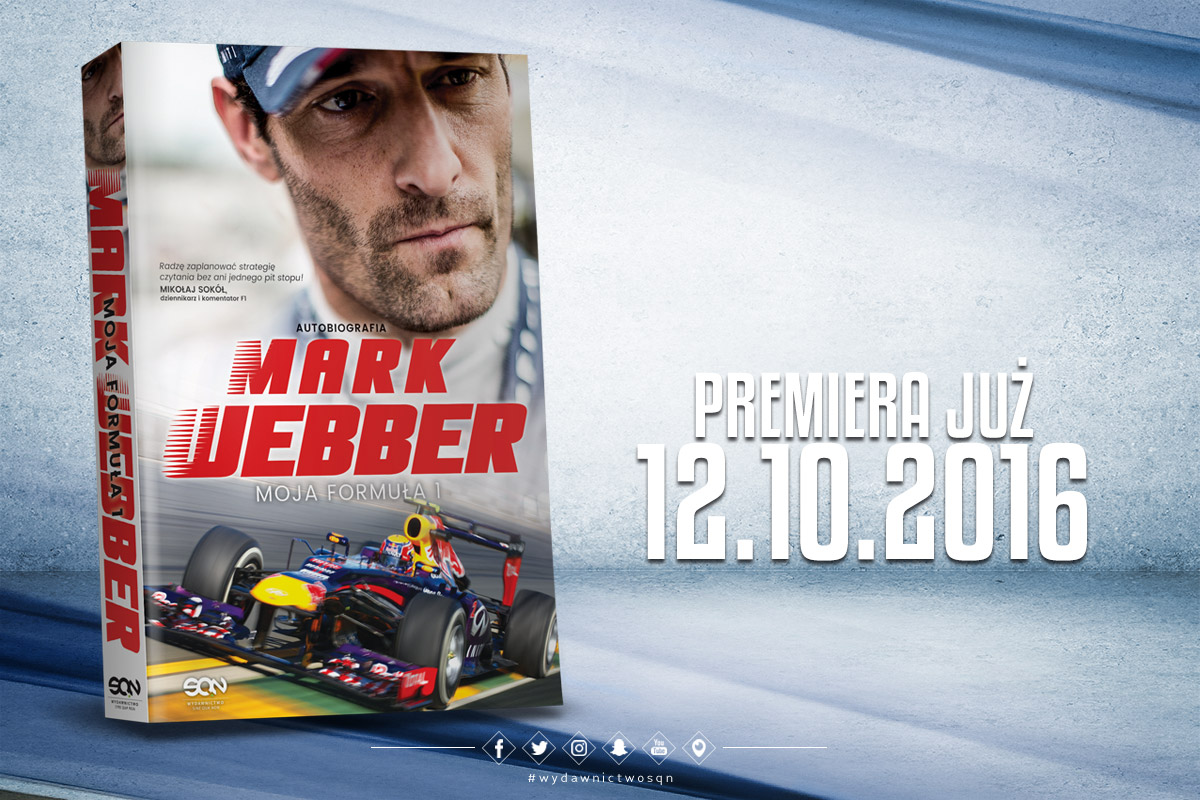 """Mark Webber w autobiografii """"Moja Formuła 1"""" o Kubicy"""
