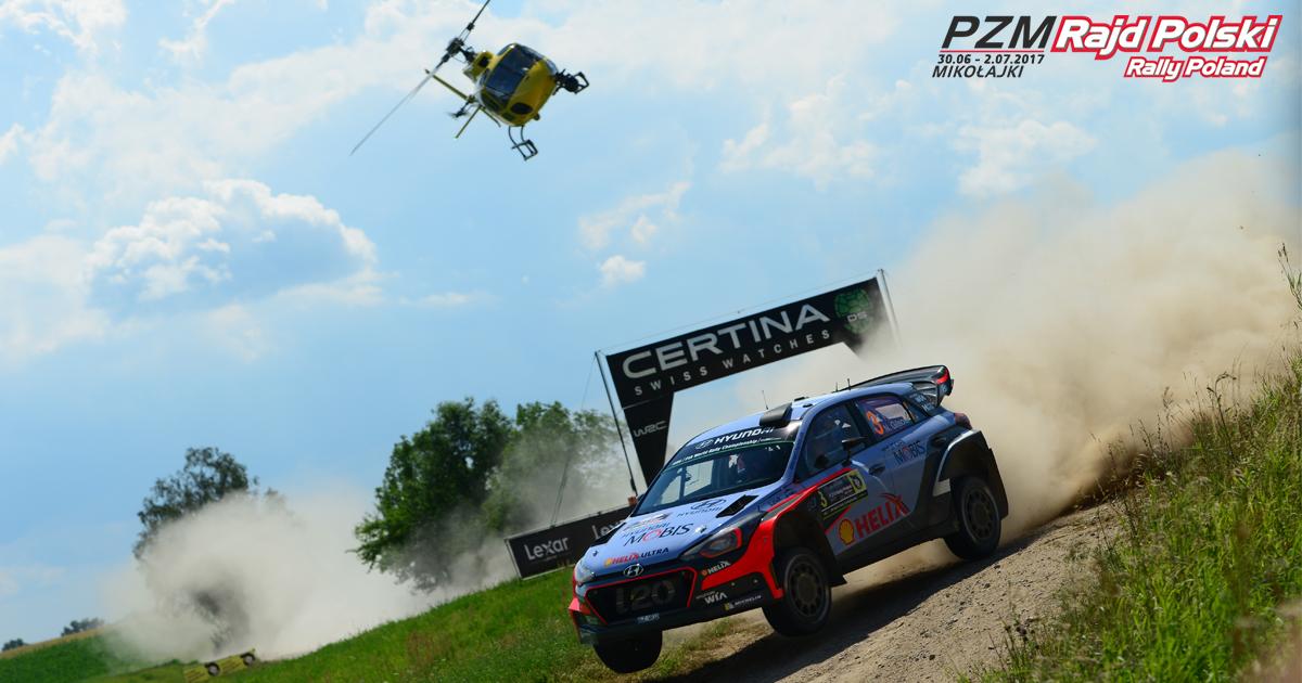 Oficjalnie Rajd Polski 2017 w WRC!