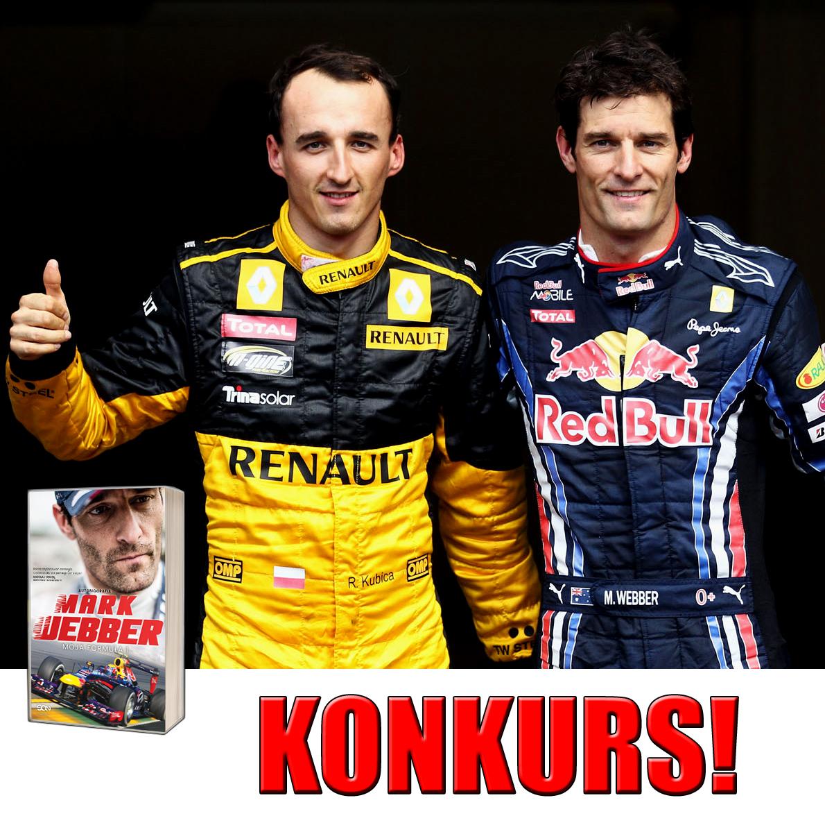 Robert Kubica Mark Webber - Konkurs - F1 GP