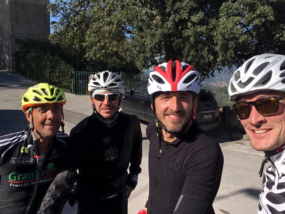 Robert Kubica ponownie trenuje na rowerze