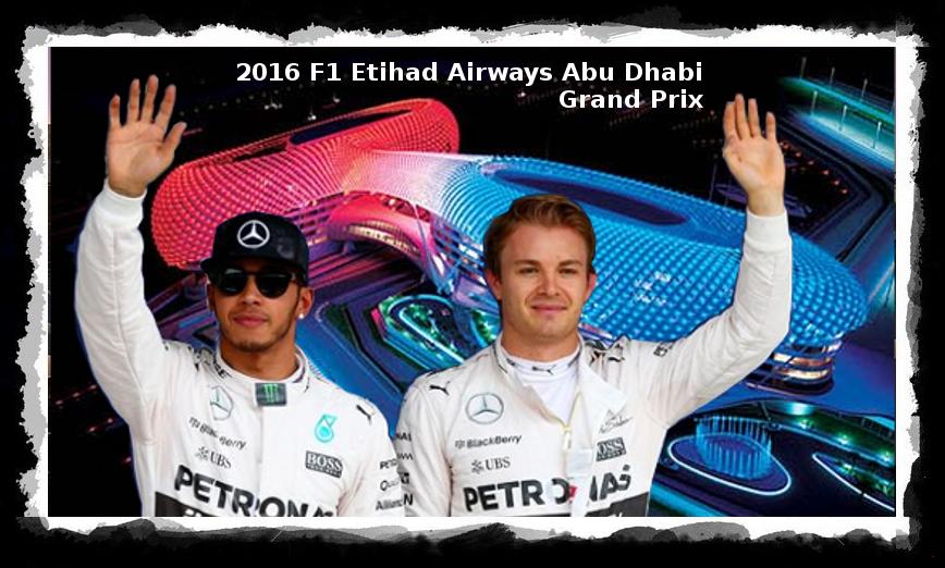 Hamilton Rosberg Abu Dhabi 2016
