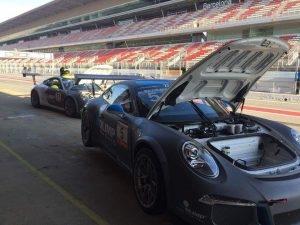 Kubica & Olimp Racing - Porshe 911 GT3 R - Circuit de Catalunya