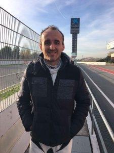 Robert Kubica testuje Porshe 911 GT3 R na torze Circuit de Catalunya