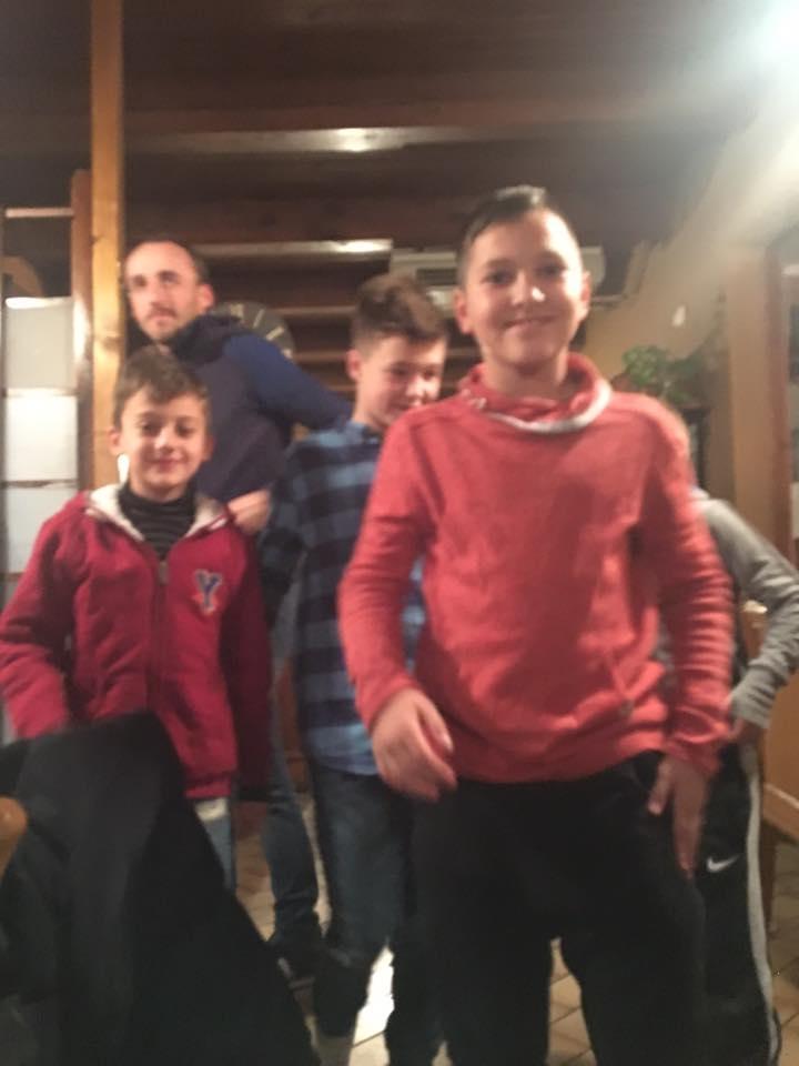 Robert Kubica - kolacja - South Garda Karting w Lonato