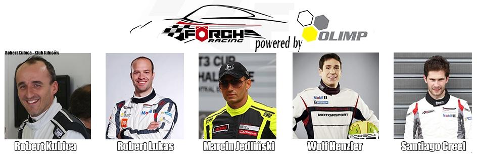 Opracował: Robert Kubica - Klub Kibiców : Kubica w 24H Dubai 2017 z Förch Racing powered by OLIMP
