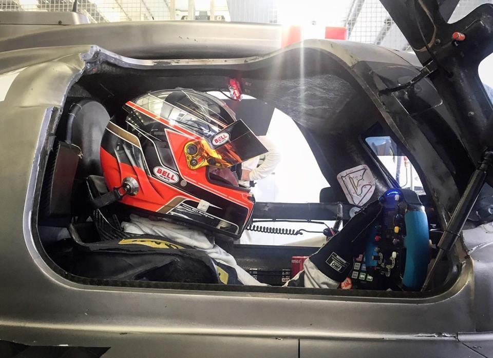 Robert Kubica 24h Dubai 2017 z Förch Racing Olimp Racing