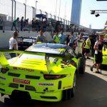 Robert Kubica 24h Dubai test 4