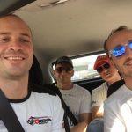 Robert Kubica 24h Dubai zapoznanie