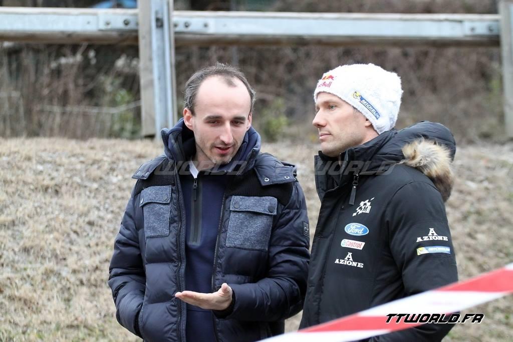 Robert Kubica & Sebastien Ogier - Rallye Monte Carlo 2017
