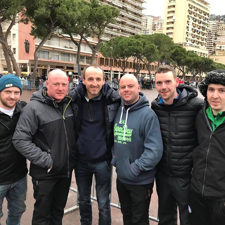 Robert Kubica na mecie Rajdu Monte Carlo 2017