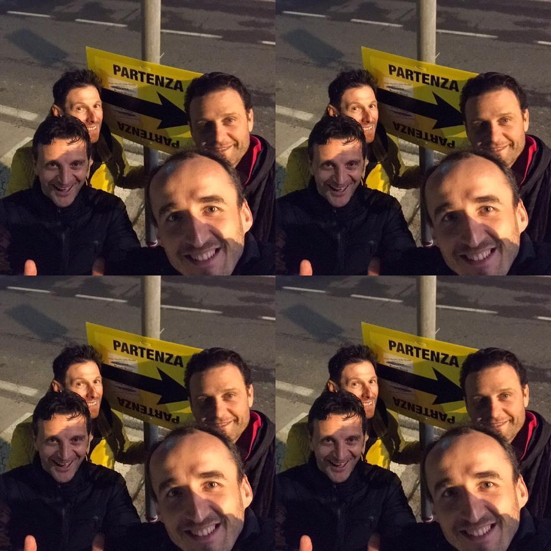 Robert Kubica, Michele Bartoli, Alessandro Petacchi, Massimo Pasquini - Versilia Michele Bartoli