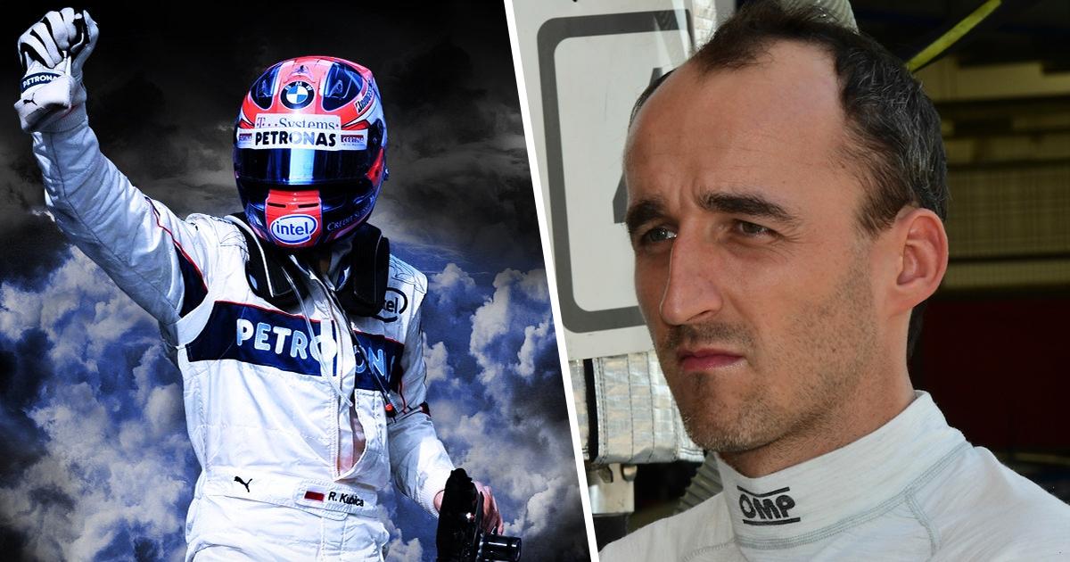 Robert Kubica: Myślę, że już nie wrócę do F1, zobaczymy.