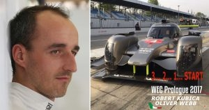 Robert Kubica WEC Prologue Monza
