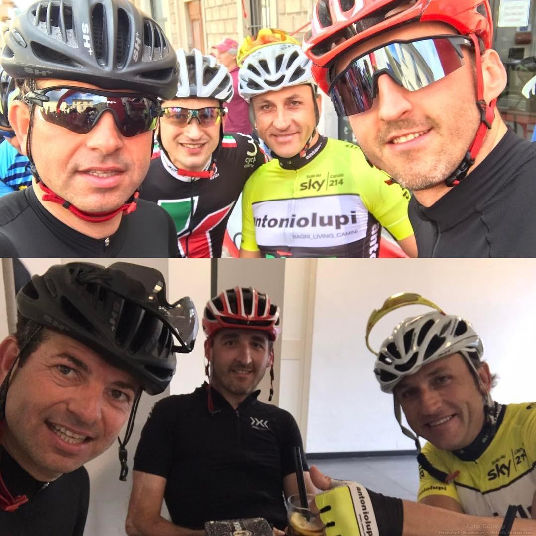Kubica i przyjaciele Gran Fondo della Vernaccia w Colle Val d'Elsa