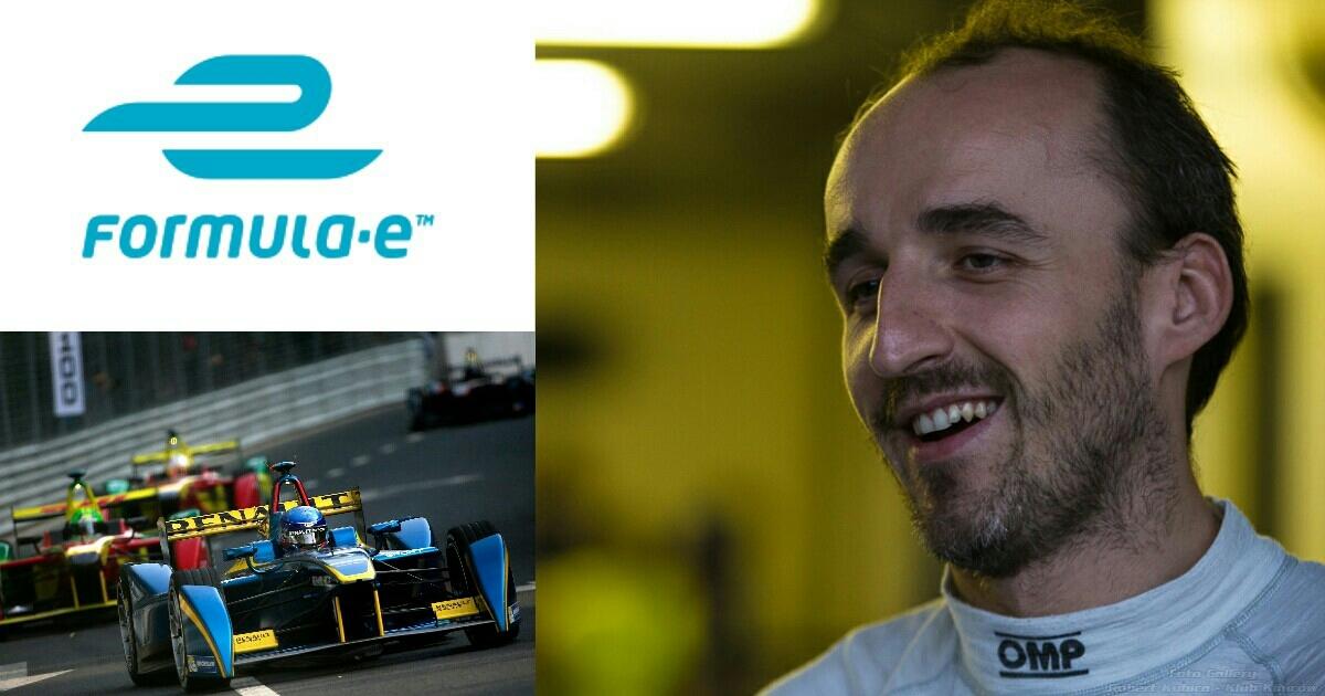 Kubica o Formula E : Chciałem wiedzieć, czy byłbym w stanie prowadzić ten bolid.