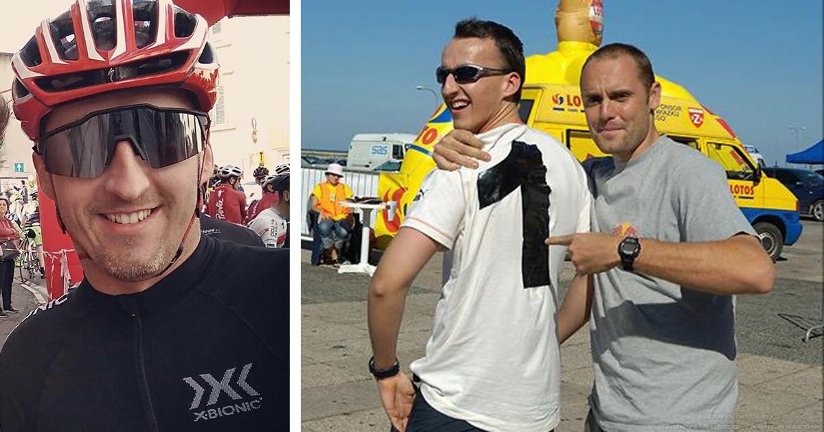 Kuchar namawia Kubice na Rallycross. Kolejny start Roberta w wyścigu kolarskim!