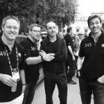 Robert Kubica Toto Wolff Bernd Maylaender Mille Miglia 2017