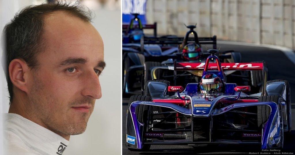 Robert Kubica testował bolid Formula E na Donington Park!