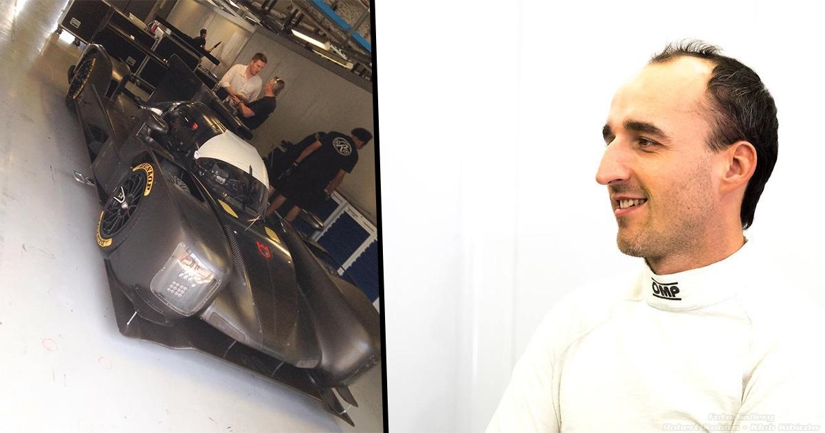 Robert Kubica testuje LMP na Autodromo Nazionale Monza