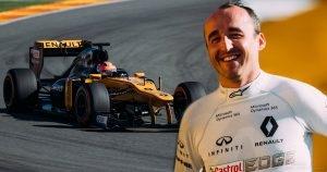 Robert Kubica F1 Renault E20 2017