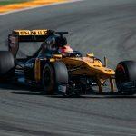 Robert Kubica testy Renault E20-5
