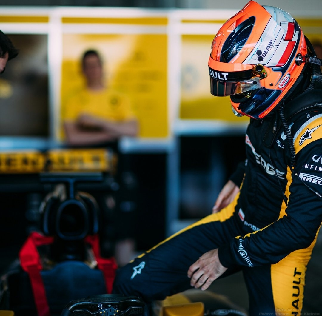 Robert Kubica testy Renault E20-7