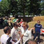 Robert Kubica Goodwood Festival of Speed