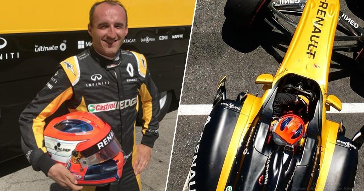 Kubica F1 Paul Ricard Renault