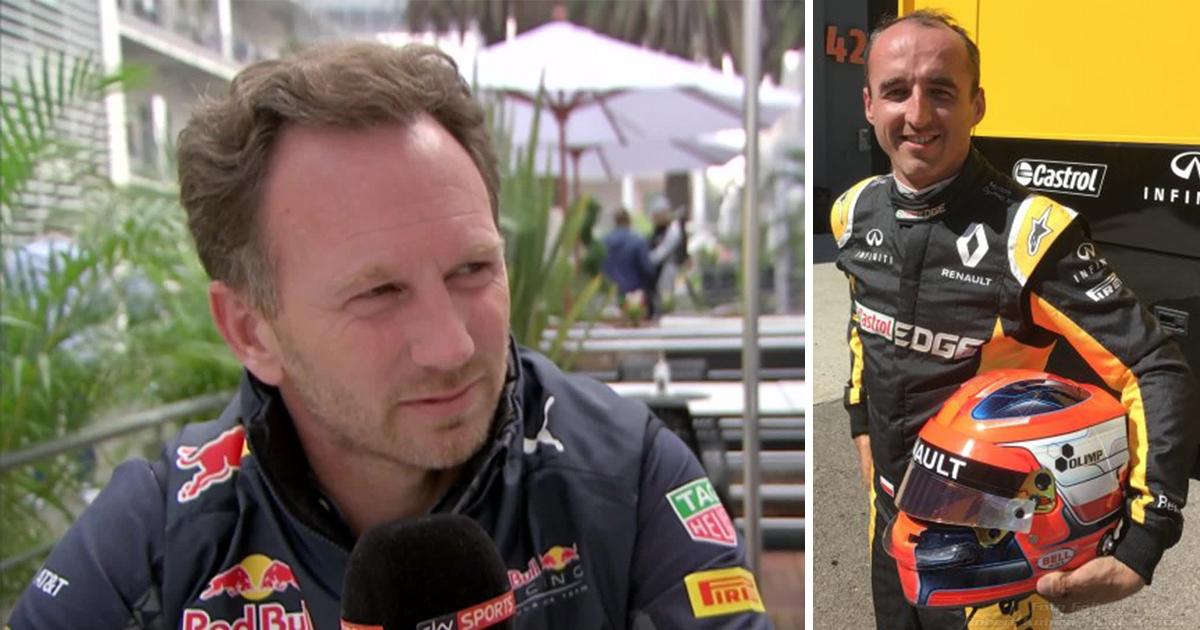 Horner Kubica testował w symulatorze Red Bull. Renault, korzystało z naszej infrastruktury