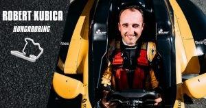 Kubica będzie testować bolid F1 na Hungaroring