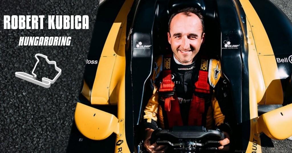 Robert Kubica F1 Test Hungaroring Renault R.S 17