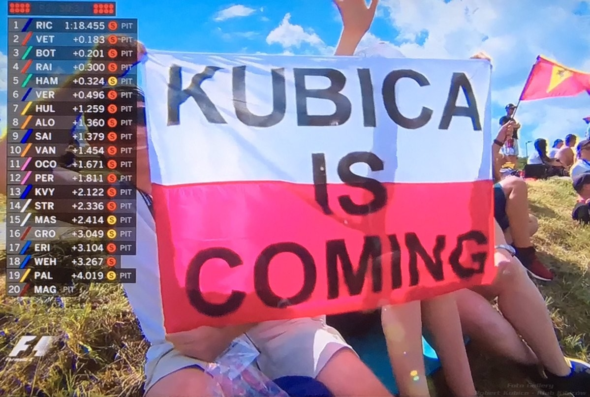 Kubica is coming - Hungarian GP 2017