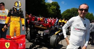 Kubica F1 Szanse 80 - 90 - Renault czy Ferrari w 2018
