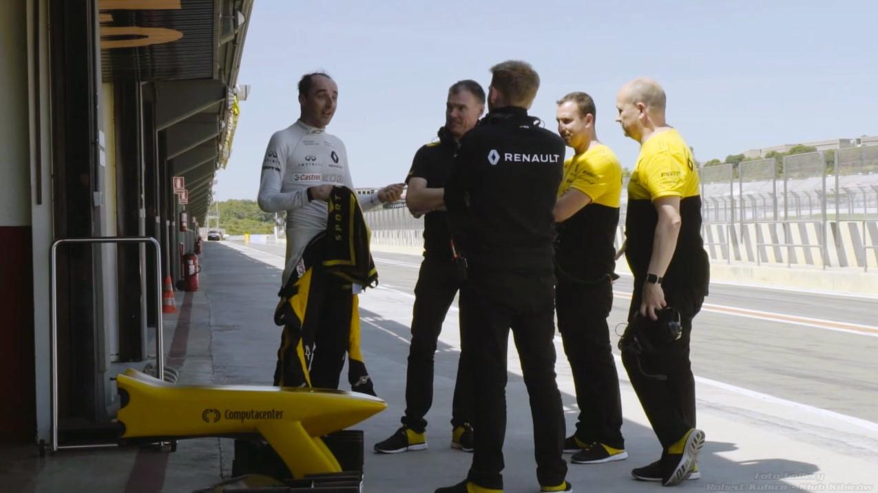 Robert Kubica F1 Renault