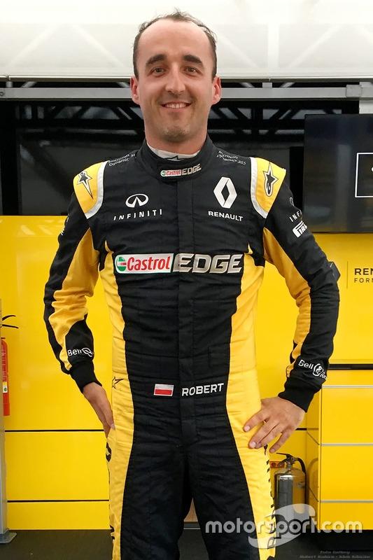 Robert Kubica - Kombinezon Hungaroring 2017