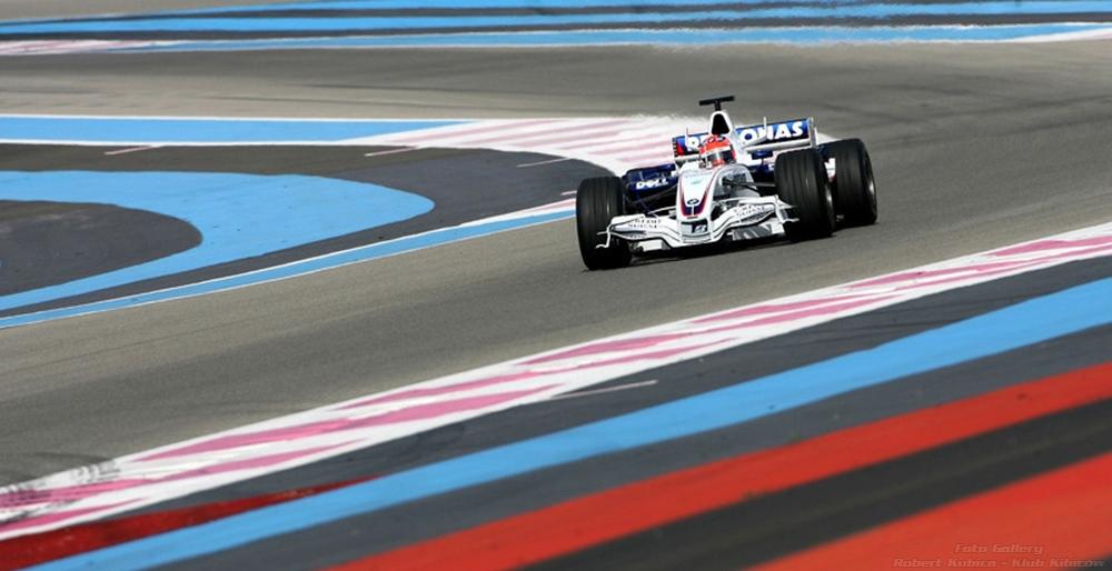 Robert Kubica - Paul Ricard BMW SAUBER