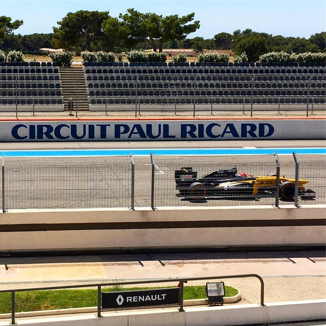 Robert Kubica Paul Ricard
