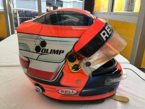 Robert Kubica kask - Hungaroring 2017