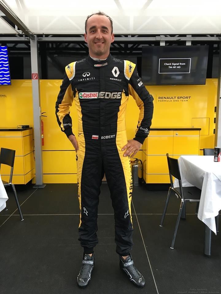 Robert Kubica na Hungaroring