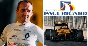 Robert Kubica Paul Ricard