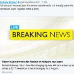 Robert Kubica F1