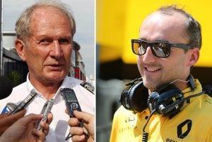 Marko Helmut Red Bull Racing - Jeśli Kubica nadal ma to coś, to czemu nie