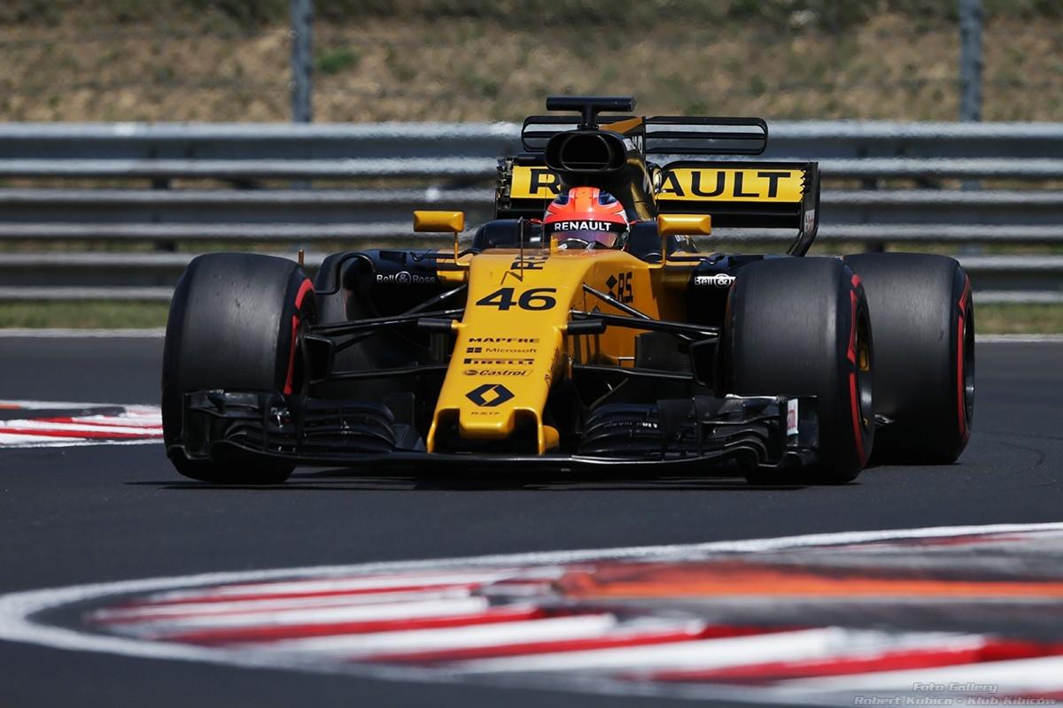 Robert Kubica - F1 Renault Hungaroring 2017