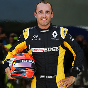 Robert Kubica Hungaroring F1 test Renault