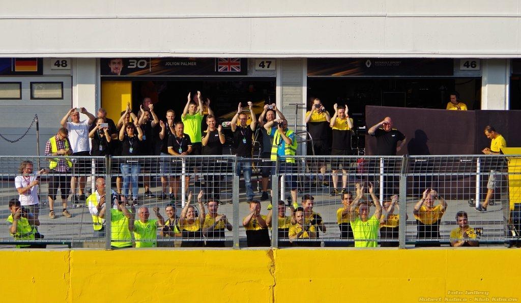 Robert Kubica - Klub Kibiców F1 Renault Hungaroring 04