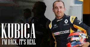 Robert Kubica Krok po kroku z powrotem do F1