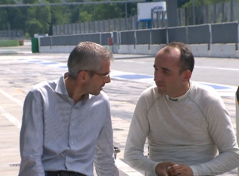 Robert Kubica - menadżer Alessandro Alunni Bravi
