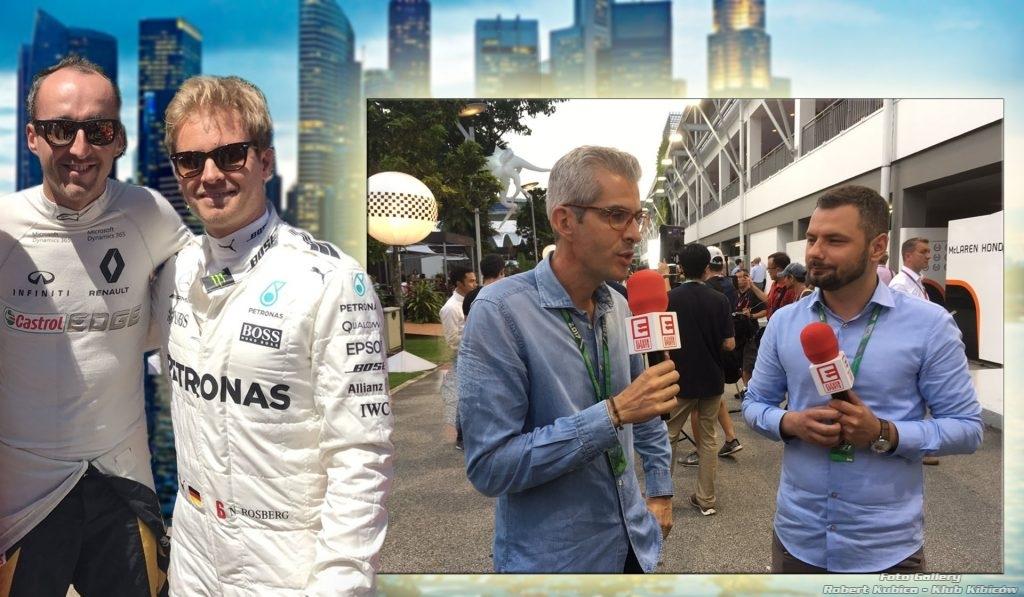 Kubica - Bravi - Rosberg