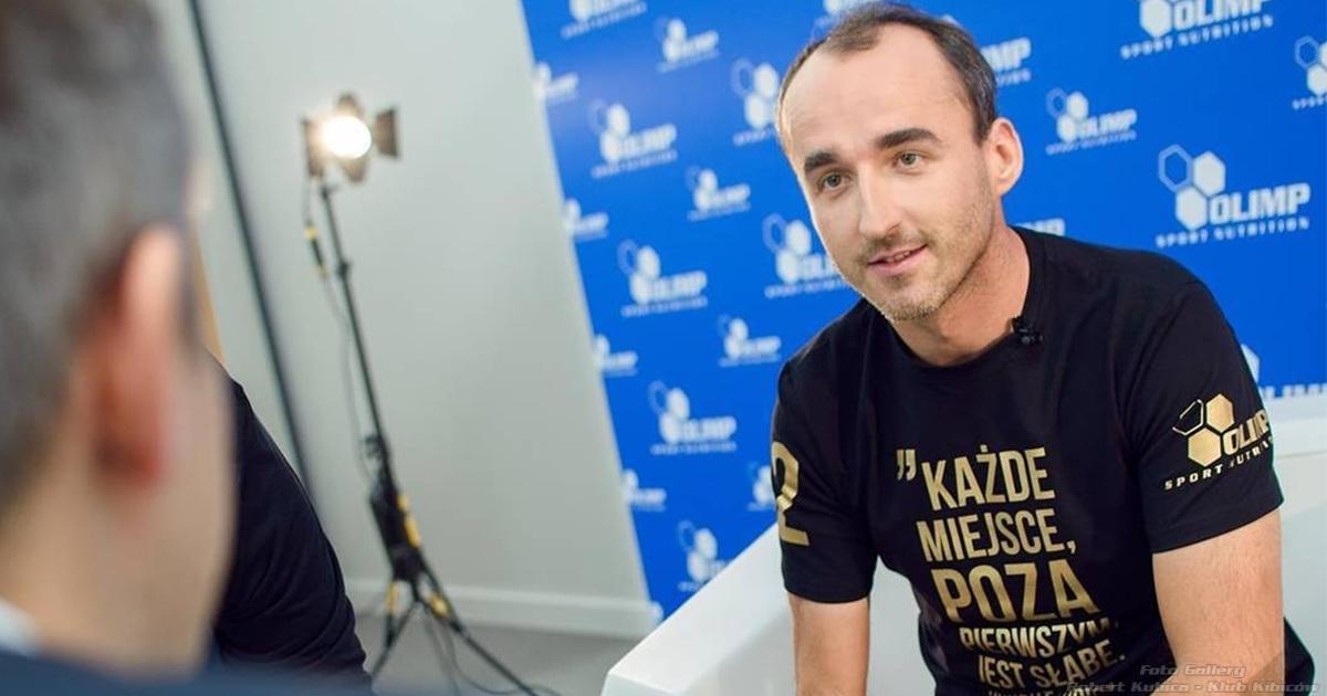 Kubica wywiad Olimp